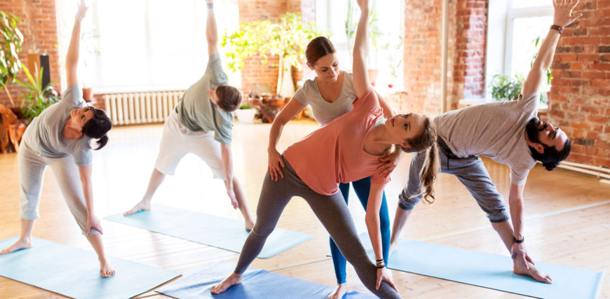 Various Benefits Of Aerial Flow Yoga Exercise Class In Hong Kong