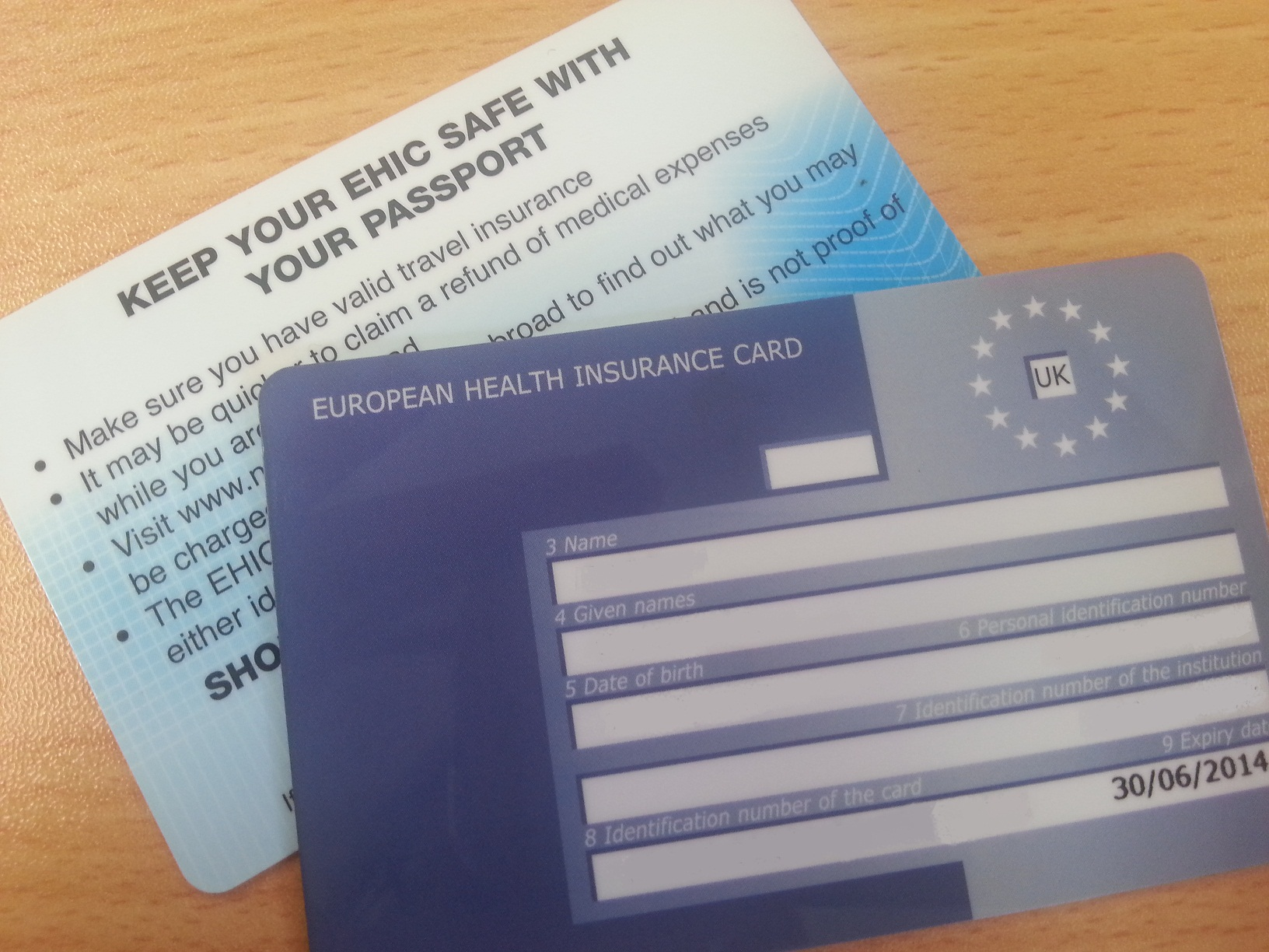 Image result for EHIC card