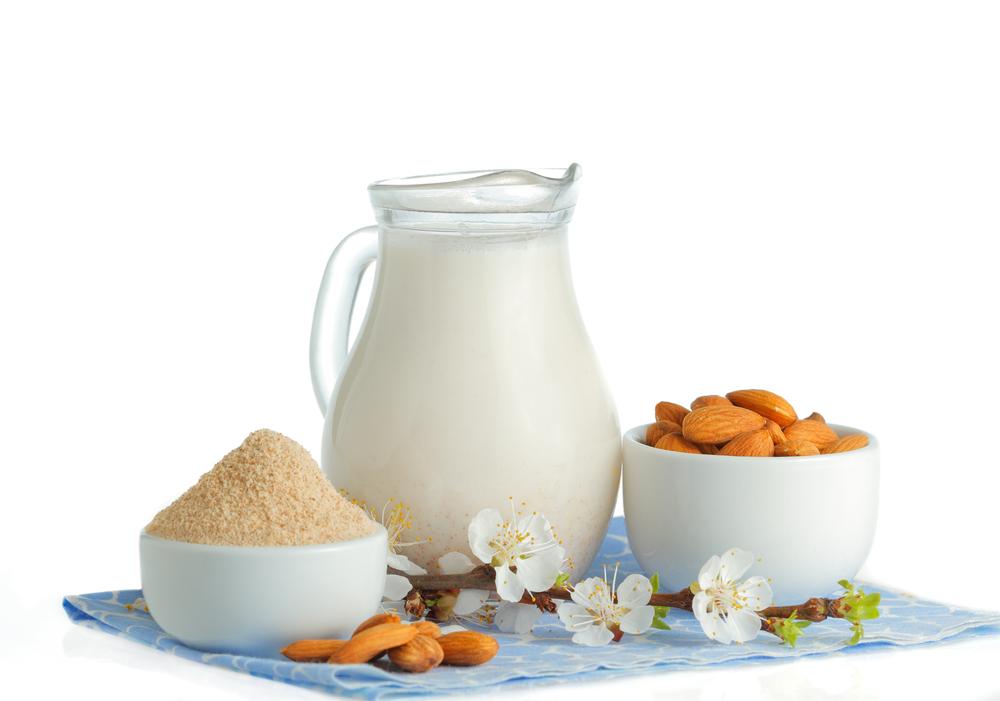 cold pressed almond milk